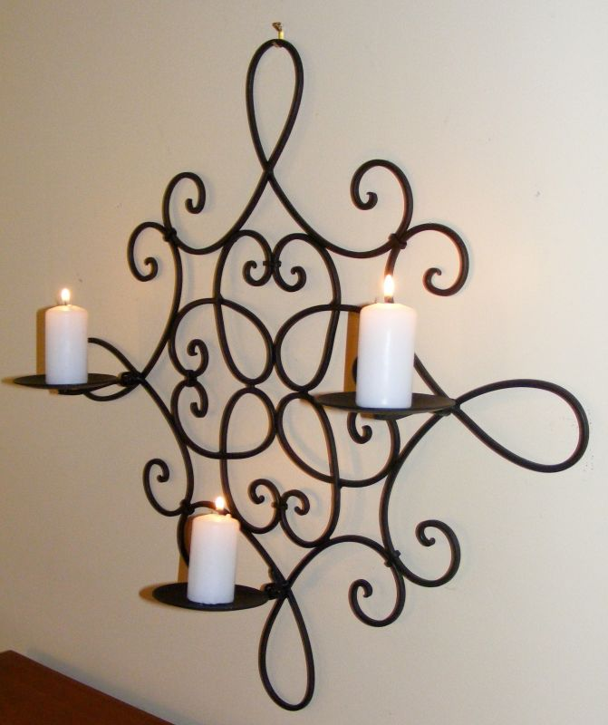 Wrought Iron Wall Decor Candle Holders : Hunter valley homewares image zoom for wrought iron